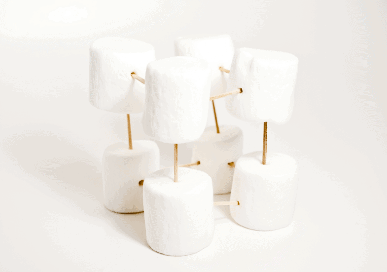 marshmallow and toothpick geometry